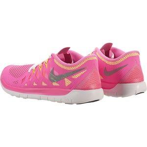 Nike Shoes - Nike Free 5.0 Womens Sneakers Size 5.5
